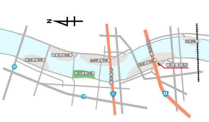 配置図-飯田H