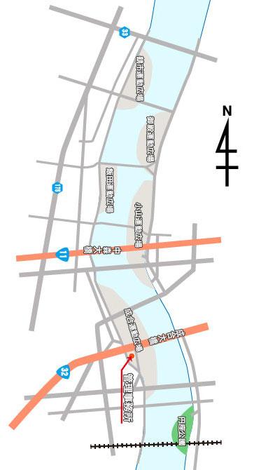 配置図-円座V
