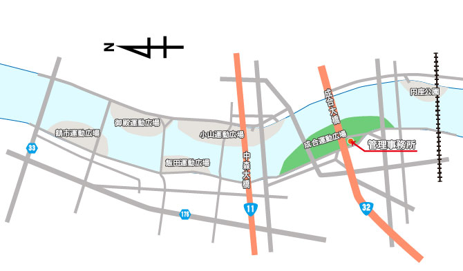 配置図-成合H